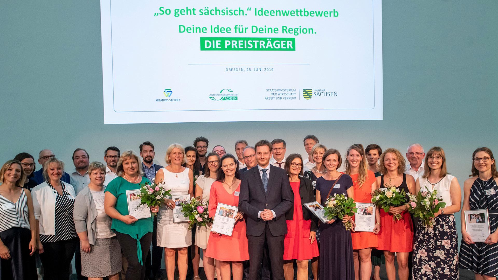 Preisverleihung-Ideenwettbewerb für den Tourismus in Sachsen