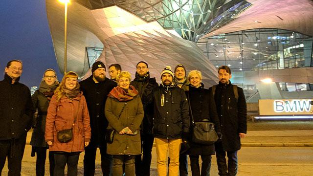 Unternehmensreise München
