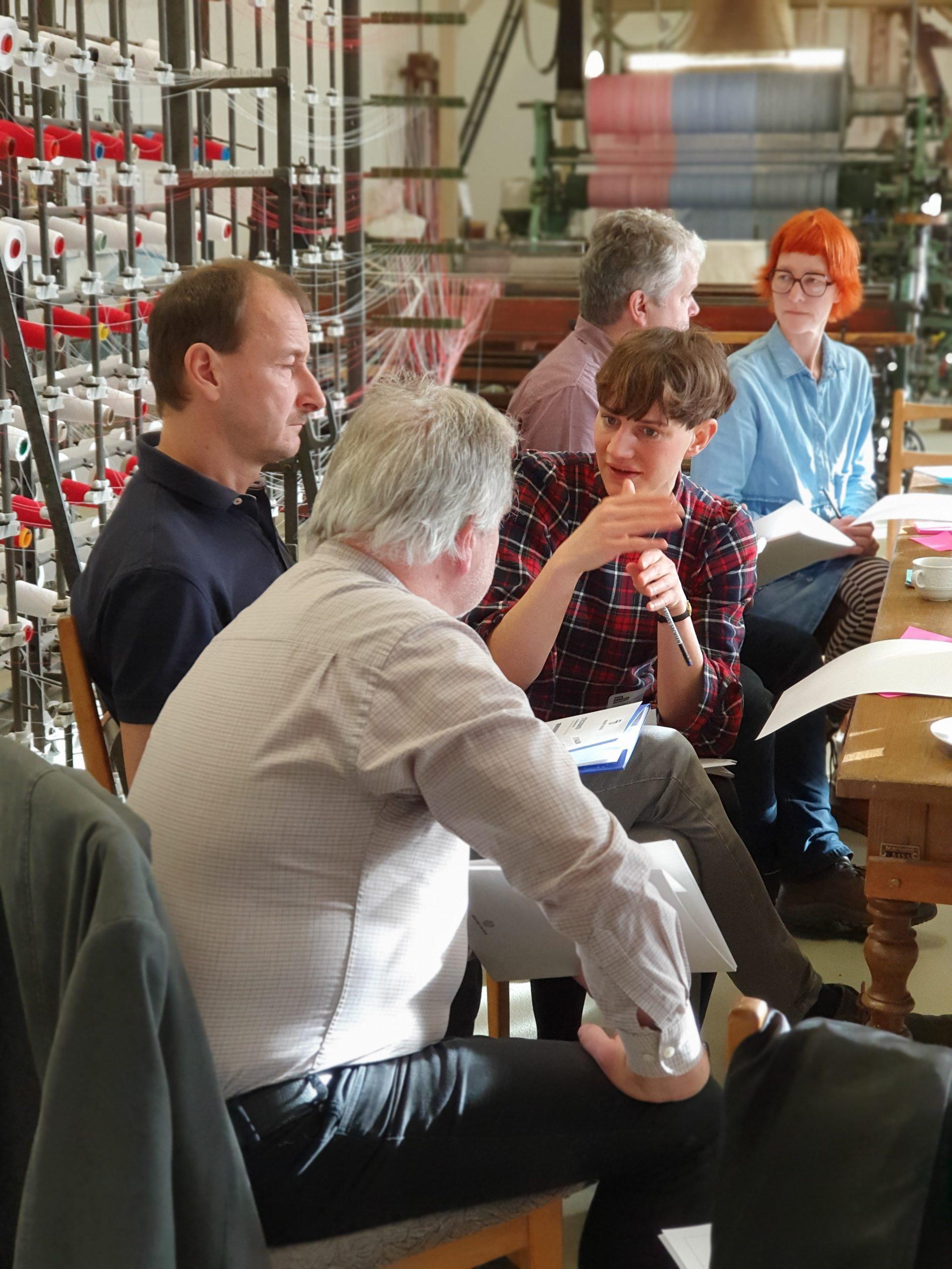Ideenwerkstatt Oberlausitzer Webschule in Großschönau