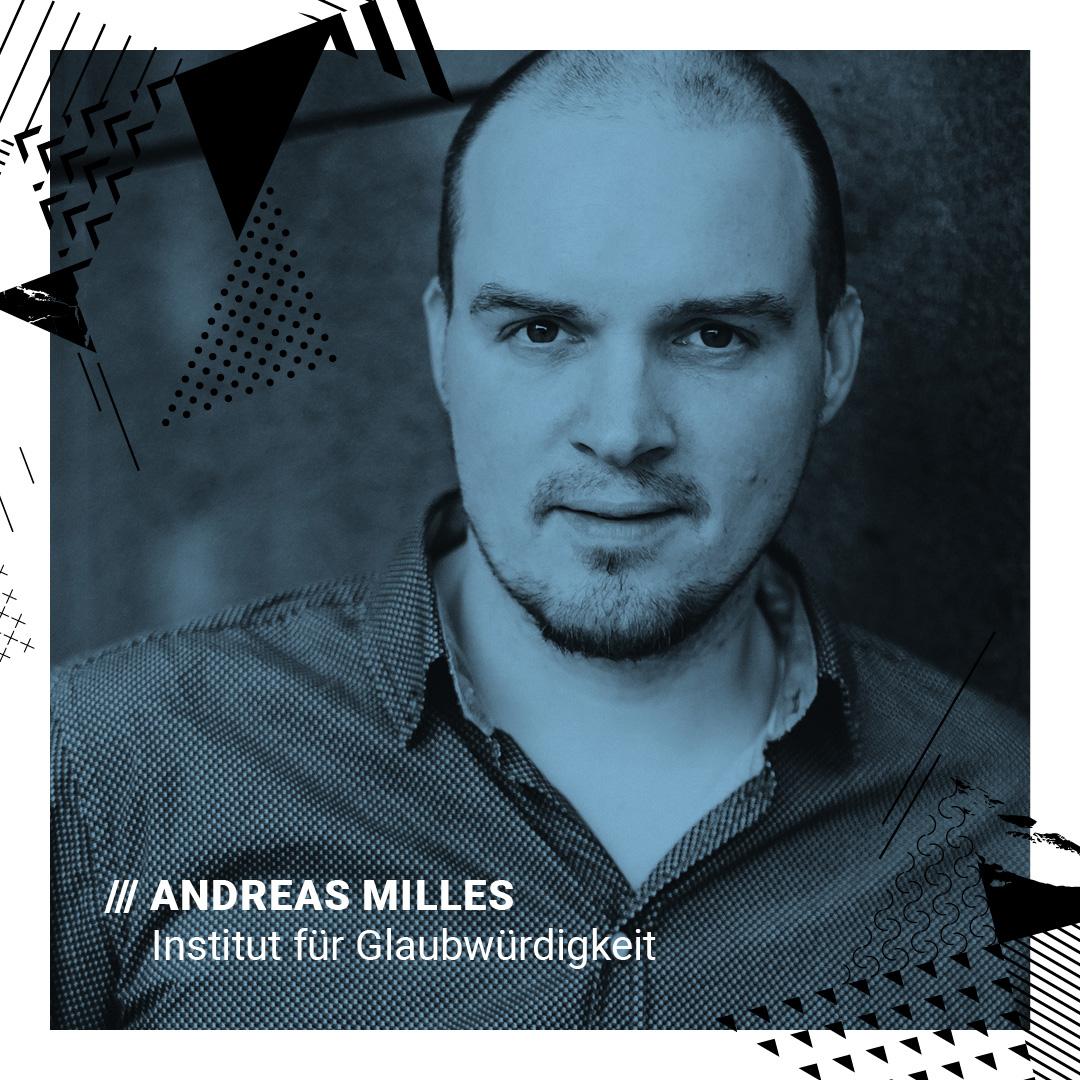 Andreas Milles Foto: Maria Stiehler